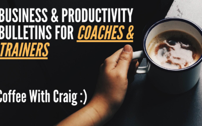 Private Invite: Coffee With Craig