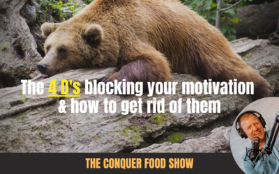 Motivation Blocked? Discover the 4 D's Blocking Your Motivation & My Framework For Removing Them.